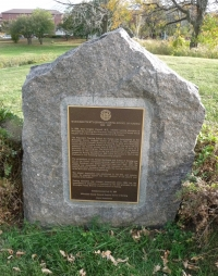 MCGHSON Marker on site of Nurses Residence on county grounds near the new MCW Cancer Institute.