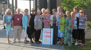 7/16/2016: Here's group attending MSOE 50th Anniversary dinner.  We couldn't stop talking!